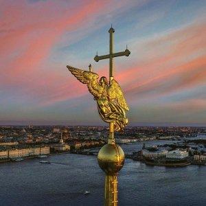 Санкт-Петербург. Весна. Петропавловская крепость