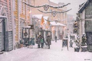 Старое ПОРВОО зимой
